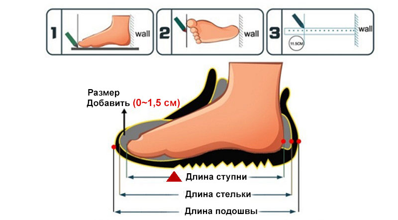 measure foot